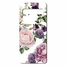 For Samsung Galaxy S10 PLUS Silicone Case Flower Floral Pattern - S5259