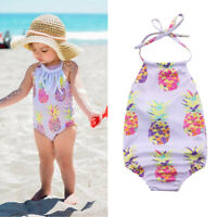 Newborn Baby Girls Bikini Set Swimwear Swimsuit Bathing Suit Beachwear 0-24M