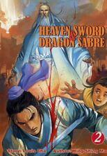 HEAVEN SWORD & DRAGON SABRE VOLUME 2  (ComicsOne 2002 Manhua Manga ~ Louis Cha)