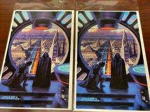Will Xizor Call Luke/'s Bluff #61 Star Wars Shadows Of The Empire 1996 Topps Card