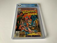 HOWARD THE DUCK 23 CGC 9.8 WHITE PAGES STAR WARS PARODY MAN-THING MARVEL COMICS