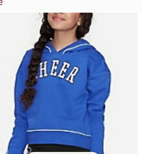Justice Girls Size 8 Hoodie- Cheer - Nwt💙💙💙