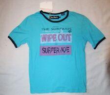 """ORIGINAL JOE BLACK  Tee shirt   """" Surfer """" bleu 8 ans neuf"""