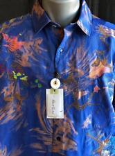 "ROBERT GRAHAM NWT ""Samo 20"" Limited Edition Shirt, Sz XL,,Stunning"