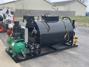 sealcoating Complete Spray Skid System 550 Gallon Or 700 Gallon Complete