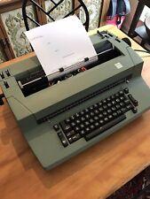 VINTAGE GREEN IBM SELECTRIC II CORRECTING TYPEWRITER