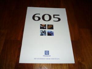 Peugeot 605 Prospekt 07/1996