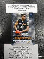 2013 AFL CHAMPIONS FIREPOWER MIRROR FM3 MARC MURRHY CARLTON