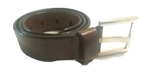 KENNETH COLE REACTION Brown Genuine Leather Belt Size M