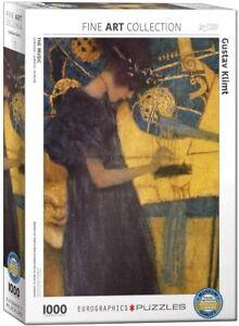 The Music by Gustav Klimt 1000 piece jigsaw puzzle 680mm x 480mm (pz)