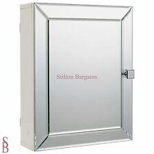 Heart of House Adjustable Shelf Mirrored Bathroom Wall Cabinet - BNIB -  mirror