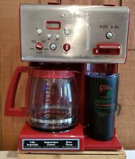 Cuisinart CHW-12 RedCoffee Plus 12-Cup Programmable Coffeemaker Hot Water System