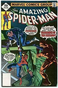 THE AMAZING SPIDER-MAN #175 THE PUNISHER APPEARANCE WHITMAN VARIANT