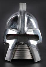 """Silver """"Cylon Centurion"""" helmet from Battlestar Galactica. Lot 1066"""