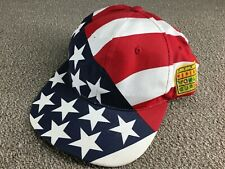 Vintage 1999 Womens FIFA World Cup Hat Snapback Cap American Flag USA Soccer