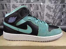 UNISEX Nike Air Jordan 1 Retro Mid Basketball Shoes size 5 Youth US 555122-045