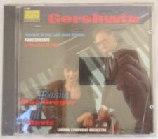 GERSHWIN RHAPSODY IN BLUE PIANO CONCERTO CD -JOANNA MACGREGOR- CARL DAVIS - NEW