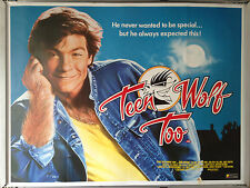 Cinema Poster: TEEN WOLF TOO 1988 (Quad) Jason Bateman Kim Darby John Astin