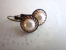 Ohrringe crispy pearl - Ohrhänger Brisur bohemian minimal style