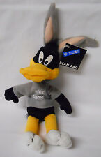 1998 Warner Bros Studio Store Duck Season Daffy Duck Mini Bean Bag-Beanie
