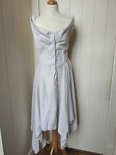 VIVIENNE WESTWOOD Anglomania pale grey cotton dress - size 46