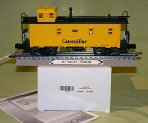 MTH 30-4180C Caterpillar #1932 Off-Set Steel Caboose O/027 wks w/ Lionel 2007