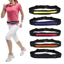 Sports Running Jogging Cycling Pocket Fanny Pack Bum Pouch Wallet Waist Belt Bag