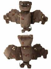 "NEW Minecraft Overworld 7"" Bat 11"" Wing Span Plush Doll Bean Bag Toy Licensed"