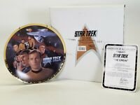 1993 Enesco Star Trek Original Series The Crew Limited Edition Porcelain Plate