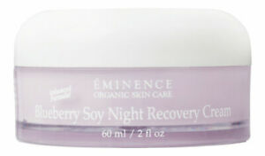 Eminence Blueberry Soy Night Recovery Cream 2 oz FREE SHIPPING!