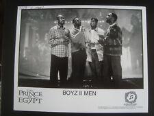 Boyz II Men PROMO PRESS PHOTO 8X10 THE PRINCE OF EGYPT D