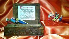 Candle Magick Box Set 11 candles 11 custom ritual pins altar box Karma Keepers