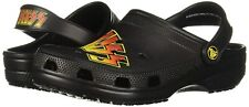 Crocs Classic KISS Clog, Black/Multi  Mens 9 Womens 11