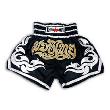 Kick Boxing Muay Thai Shorts Mma Thailand Men Grappling Satin Pants Wear Gym