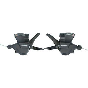 Shimano SL-M315 Rapidfire Plus Schalthebel Set oder 3,7,8 fach inkl. Schaltzüge