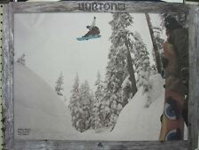 BURTON snowboards 2013 KELLY CLARK MIKEY RENCZ 2 sided poster ~NEW condition~!