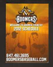 2012 Schaumburg Boomers Schedule--Tribune Media Group