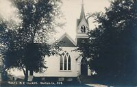 DAYTON IA – Grace M. E. Church Real Photo Postcard rppc
