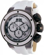 Invicta 28258 Subaqua Men's 52mm Chronograph Black-Tone Silver Wood Dial Watch