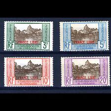 OCEANIC SETTLEMENTS. 1941 De Gaulle. SG 136-139. Lightly Hinged Mint. (AM391)