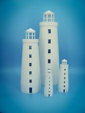 Scenic Costal Lighthouse - S Scale - 1:64 - 3D Printed - No Assembly Required!
