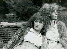 DELPHINE SEYRIG VALERIE MAIRESSE REPERAGES 1977 VINTAGE PHOTO ORIGINAL #5