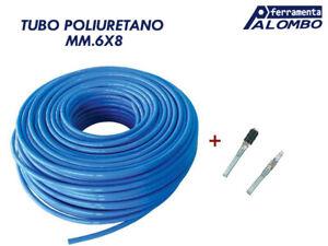 7 m 8 mm di diametro x 5 mm 275 pollici sourcing map in poliuretano colore: Nero Tubo pneumatico per aria compressa