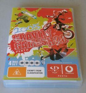 Gravity Games H2O 2005 Perth - 4 x DVD set -International action sports H20