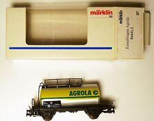 SBB CFF Caldaia Carrello petroliere CAR Agrola, Märklin Marklin #84441,2 1:87 h0 Boxed!