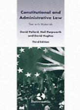 Constitutional and Administrative Law: Text with Materials, Pollard, David & Par