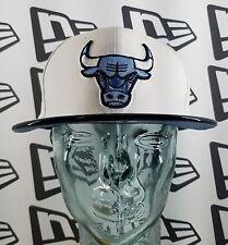 New Era NBA Chicago Bulls Snapback Hat - UNC Blue Dark Blue & White