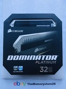32GB 4 x 8GB Corsair Dominator Platinum DDR3 Memory 1600MHz PC3-12800 DIMM