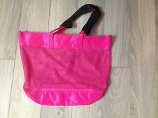 Chloe Narcisse large pink beach tote bag NEW