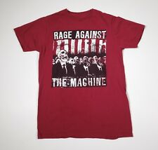 Rage Against The Machine T shirt RATM Band Adult SMALL (S) Red Skulls